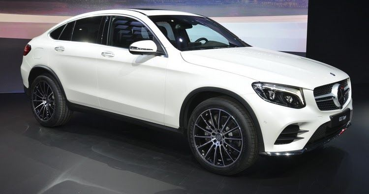 New Mercedes Glc Coupe Detailed Under Ny S Lights Mercedes Benz