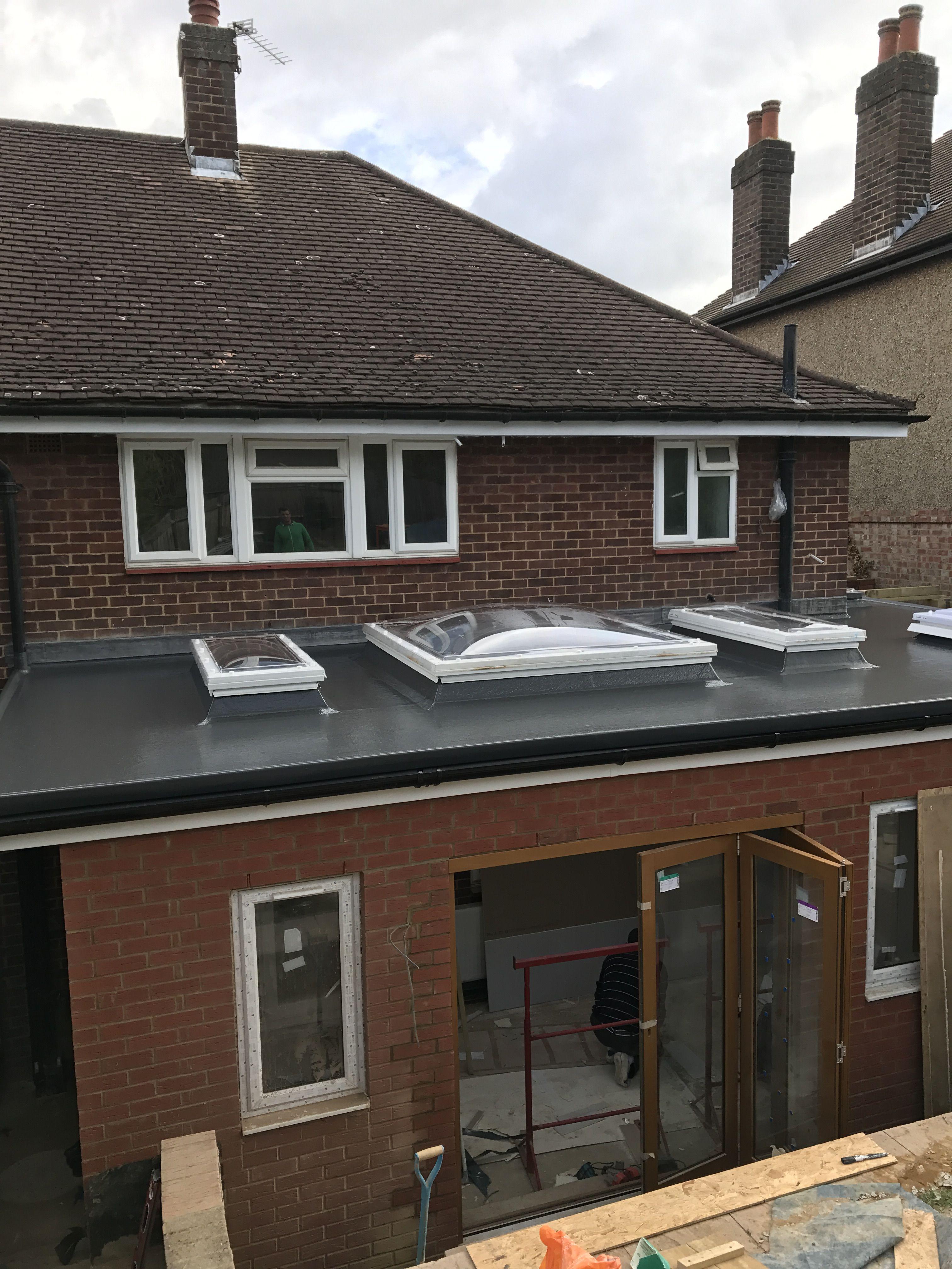 Best Fiberglass Roof With Skylights Fibreglass Roof House 400 x 300