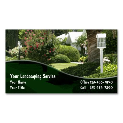 Landscaping business cards deluxeforms great office products landscaping business cards cheaphphosting Choice Image