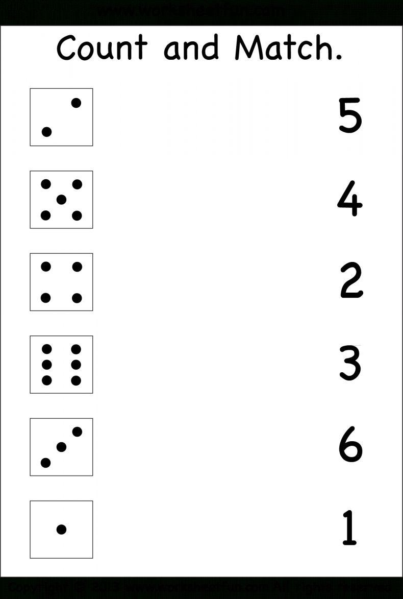 12 Matching Numbers Worksheet For Preschool Free Kindergarten Worksheets Kindergarten Math Worksheets Numbers Preschool