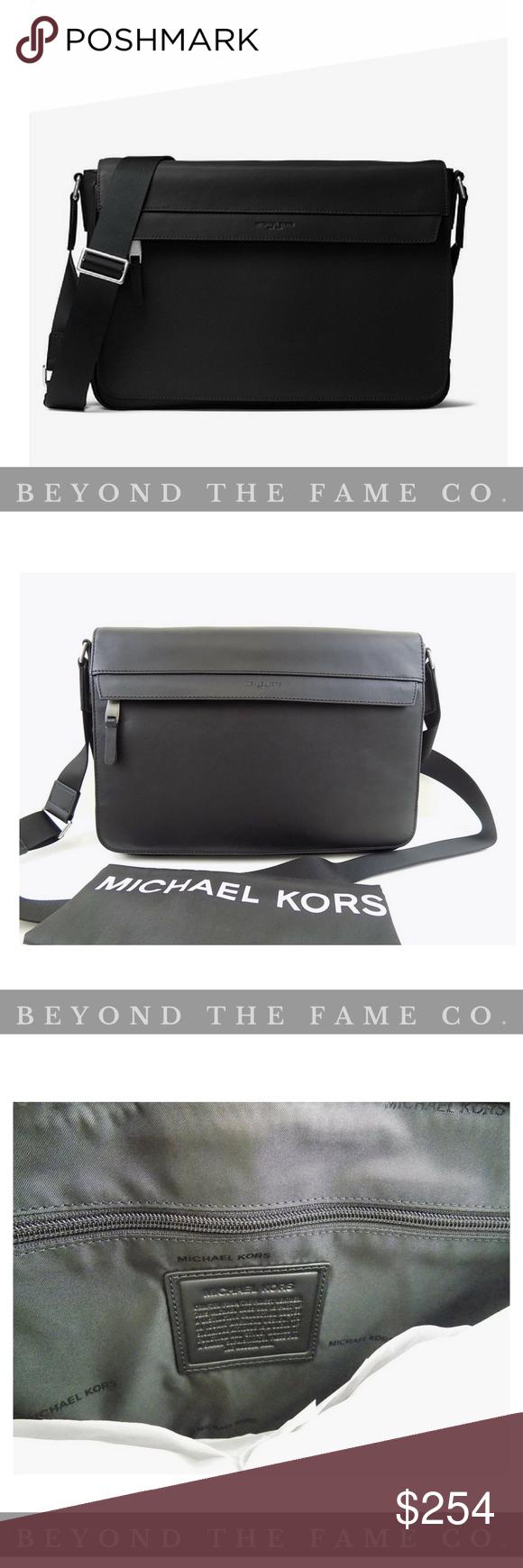 112ad62771c0 Michael Kors Men s Odin Resina Large Messenger Bag AUTHENTIC Michael Kors  ITEM IS NEW IN original