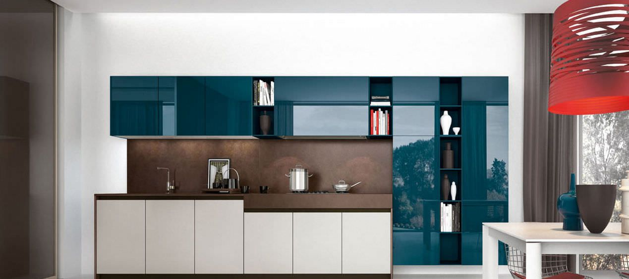 Lacquered Glass Kitchen Cabinets Lacquered Glass For Exterior | Cabinets | Glass Kitchen