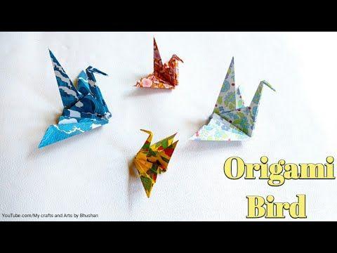 Photo of ( Tutorial) Traditional origami sitting Bird
