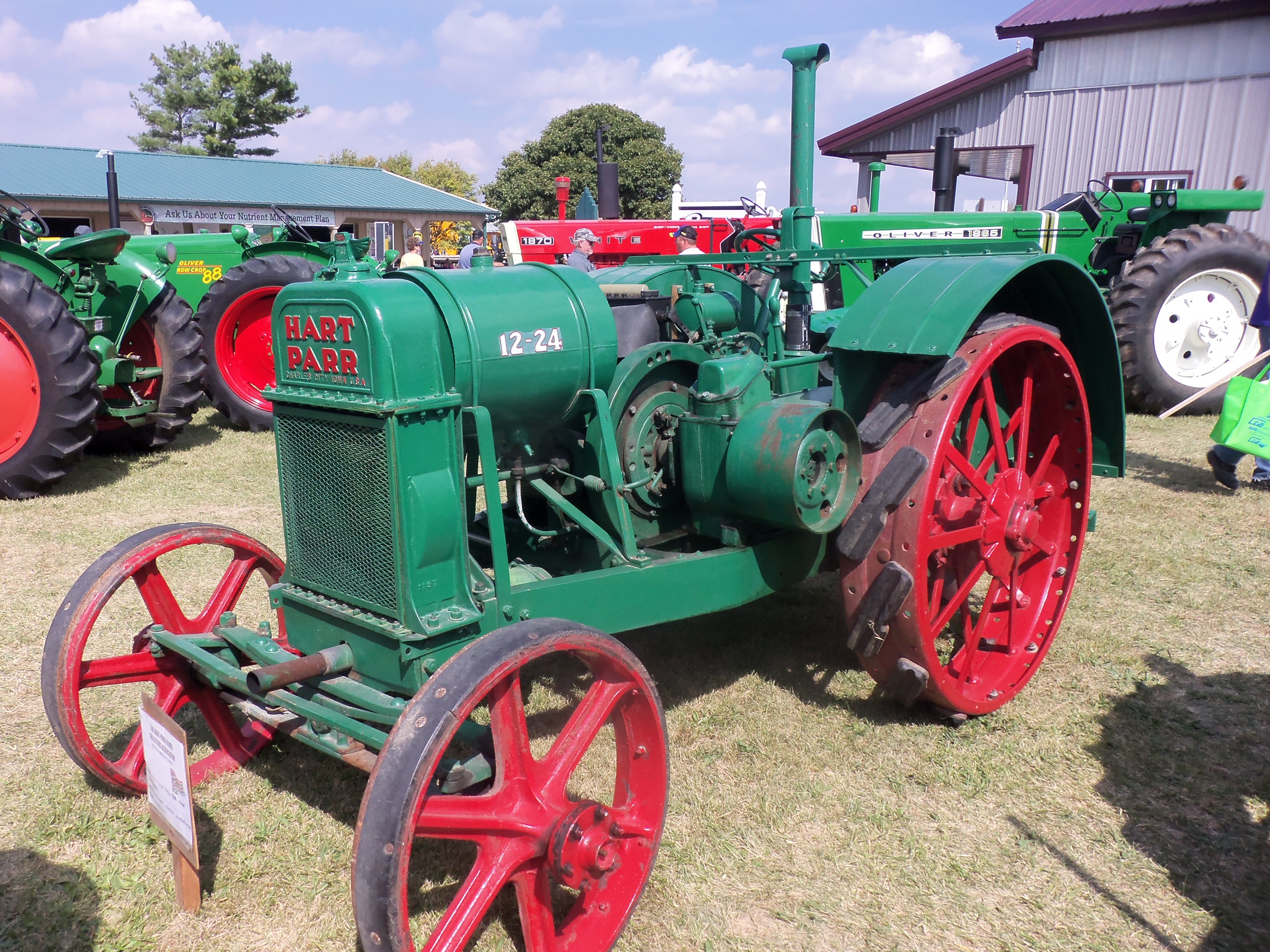 Another Picture Of Old Hart Parr Oliver 12 24 Tractor