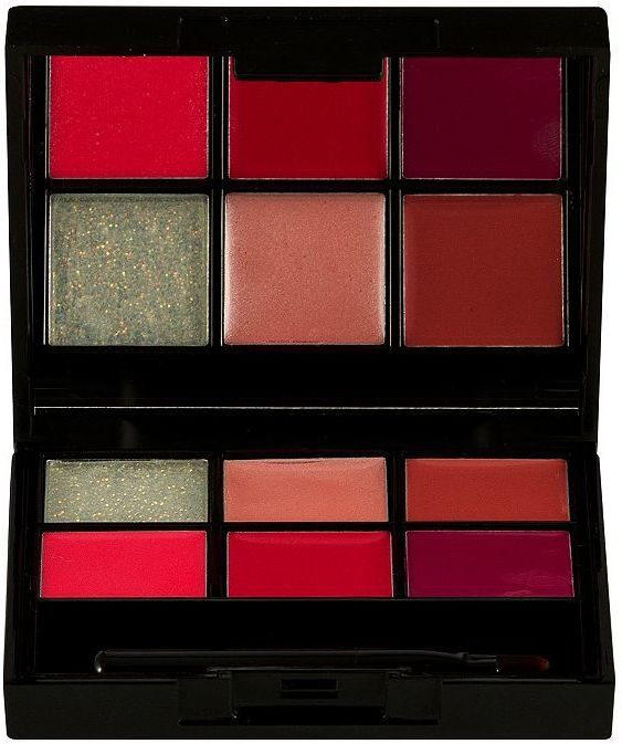 Pin for Later: 30 Makeup Palettes That Make Amazing Gifts SEVENTEEN All Out Pout Lip Palette Woo Me SEVENTEEN All Out Pout Lip Palette Woo Me (£8)