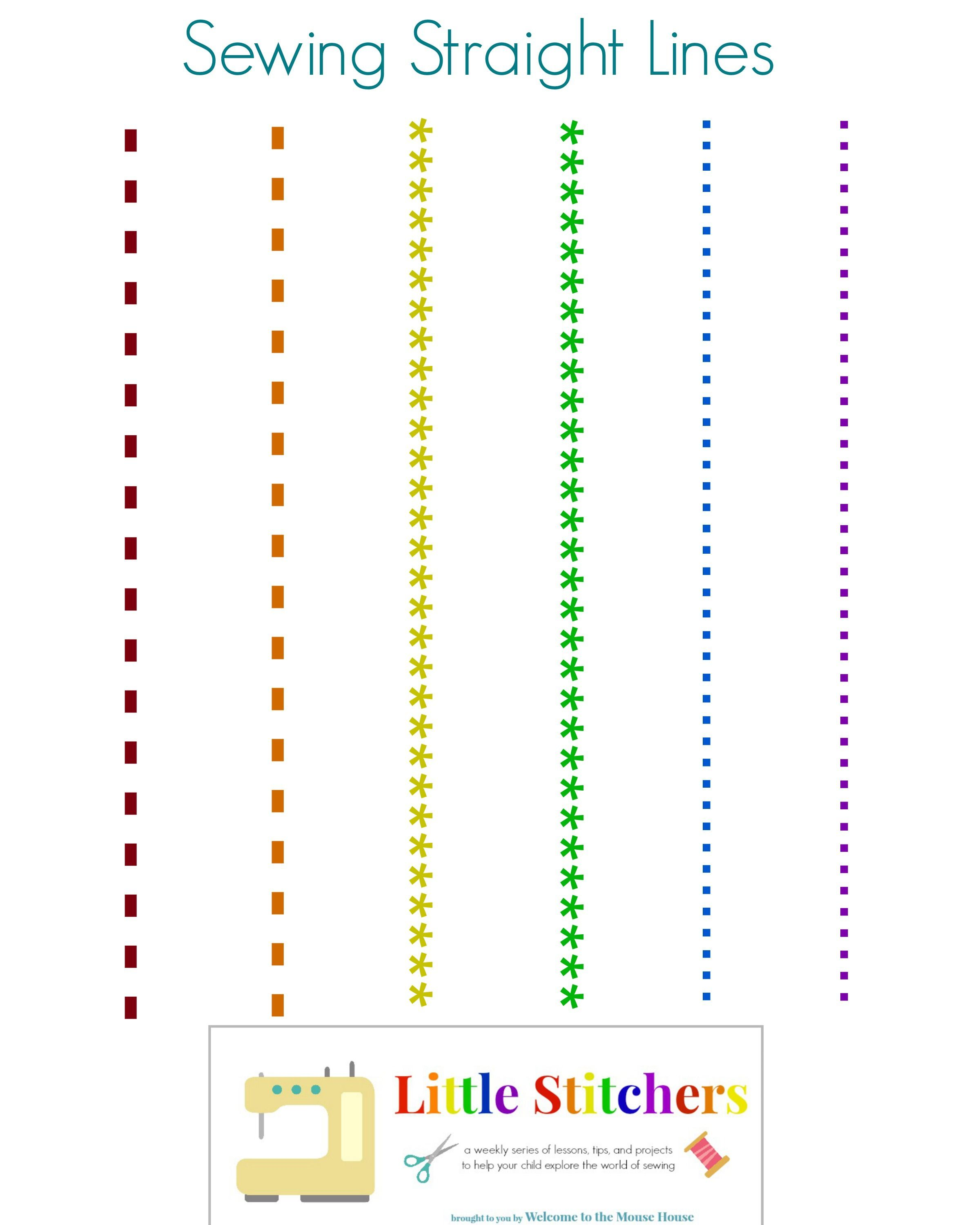 Little Stitchers Week 2 Printable Pack