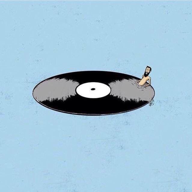 record pool Music illustration, Vinyl art, Record artwork