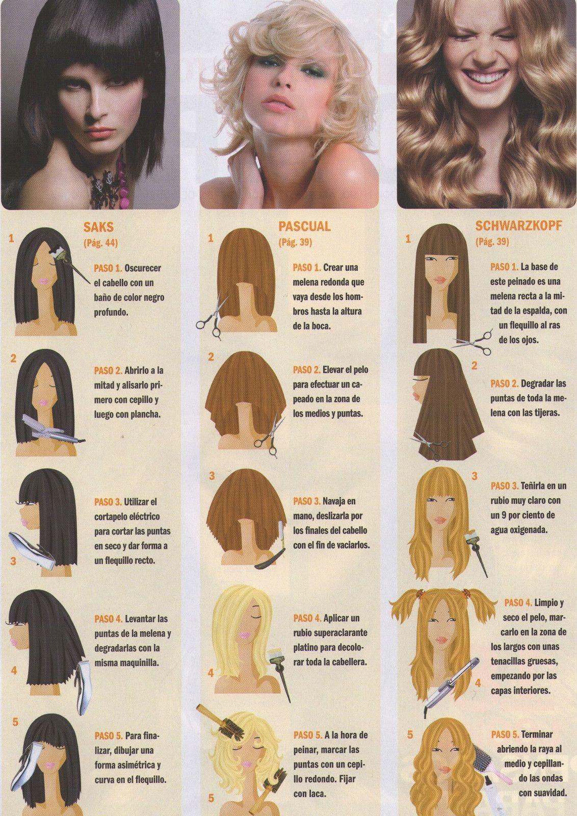 Paginas de cortes de pelo