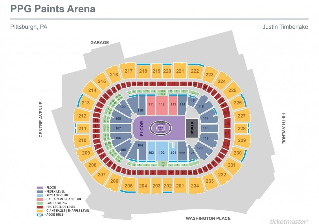 New Nassau Coliseum Seating Chart With Rows Di 2020