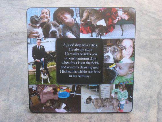 Pet Memorial Frame, Personalized Pet Memorial Picture Frame, Custom ...