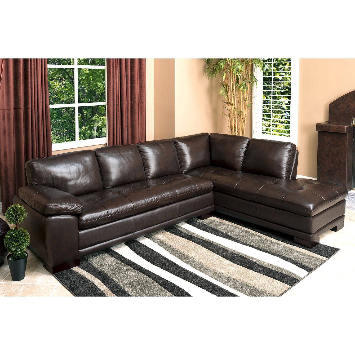 sams club living room furniture trunk westbury top grain leather sectional sam s sectionals