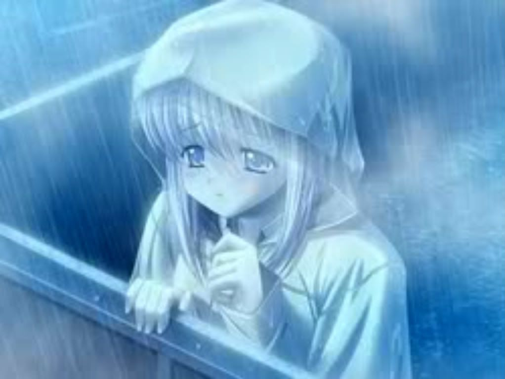 girl crying in the rain | Anime Girl Sad Crying | anime ...