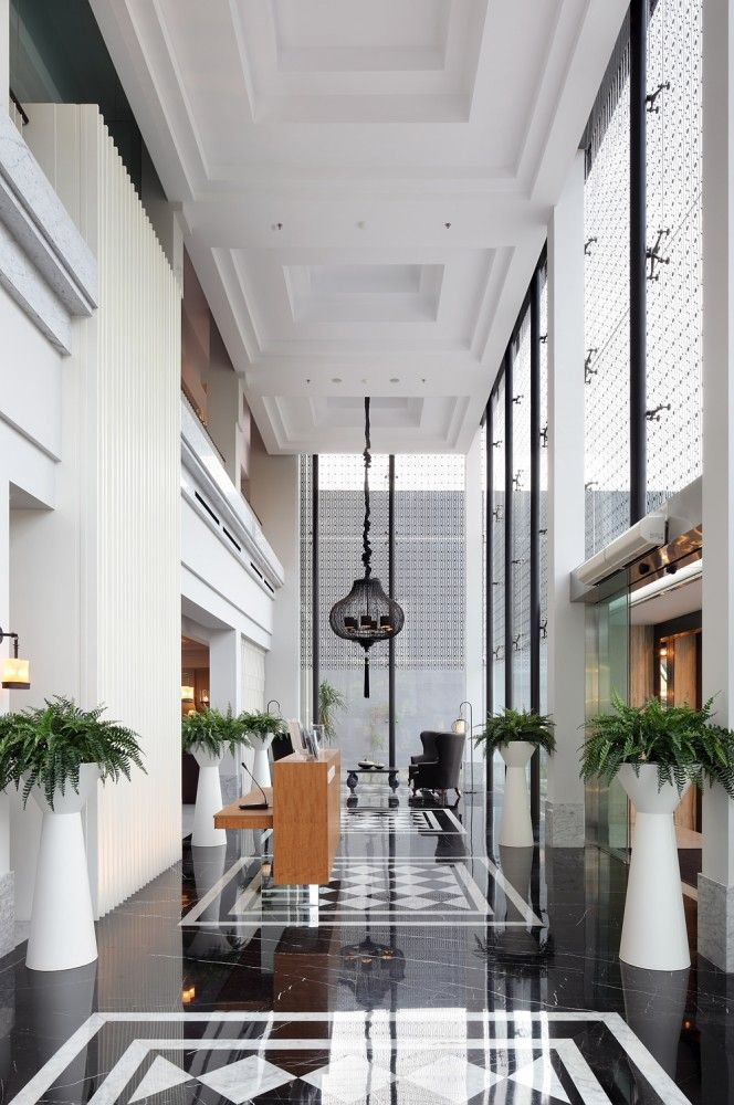 Erha clinic surabaya hmp architects checker designbest interior also lobbies and rh pinterest