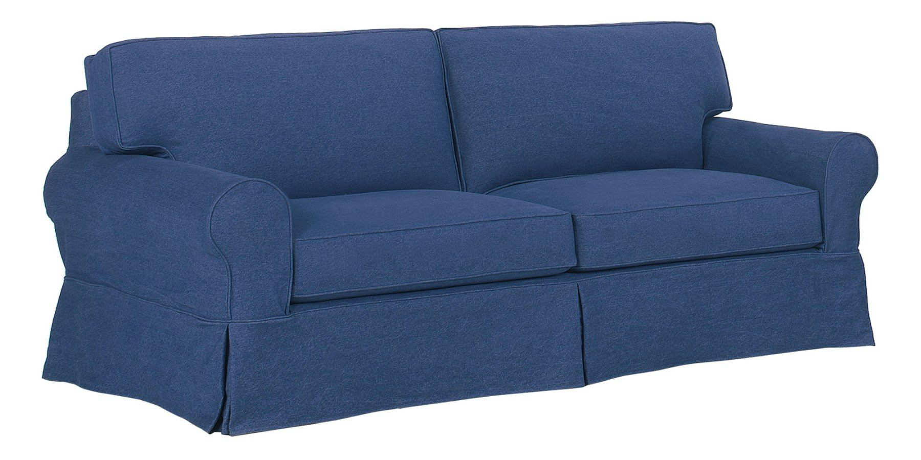 Camden Slipcover Couch Collection Beach House Living In