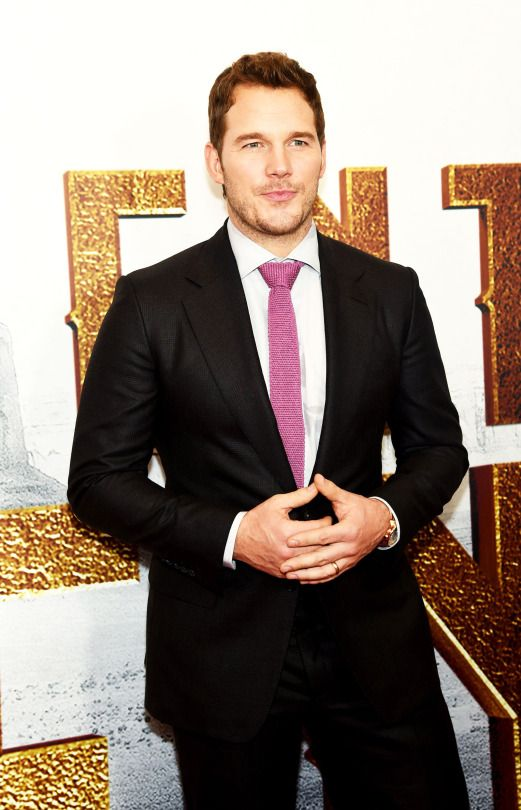 """Chris Pratt attends """"The Magnificent Seven"""" premiere at the Museum of Modern Art on September 19, 2016 in New York City."""