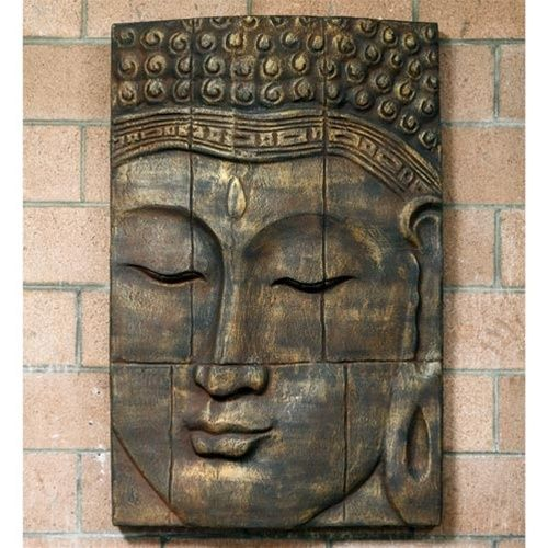 Buddha Wall Decor large relief buddha face wall decor | buddha, wall decor and walls