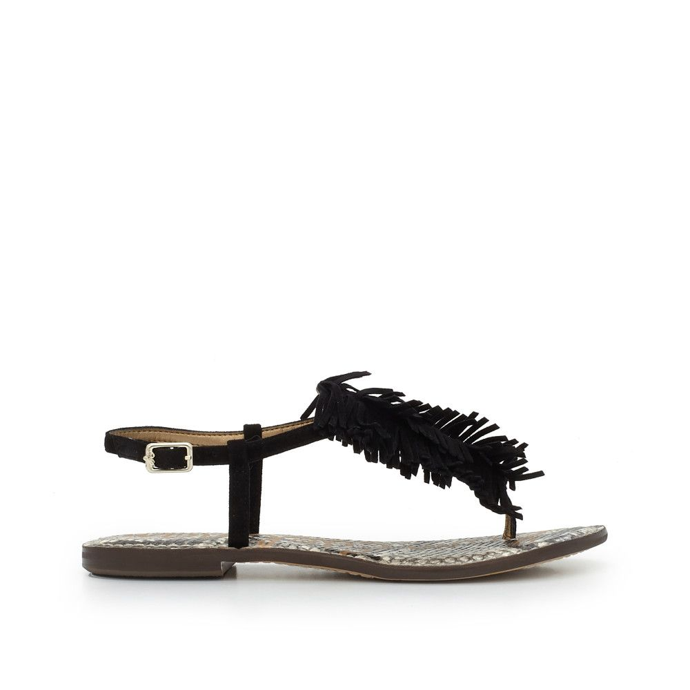 cec441410aa8e Discover the Gela Fringe Thong Sandal and other Sandals by Sam Edelman.  Shop the latest styles in shoes