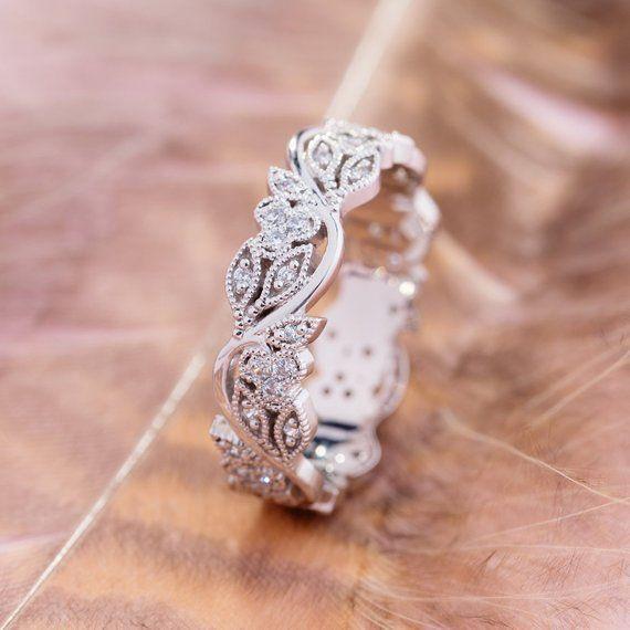 Diamondringsforwomen Wedding Rings Vintage Boho Wedding Ring Wedding Rings Unique Vintage