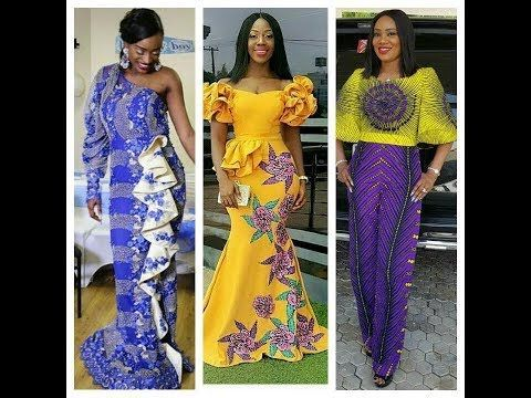 628cc11f006 Gorgeous And Stunningly Glamorous  Ankara And  Lace Asoebi Styles For   Owambe 2017 - YouTube