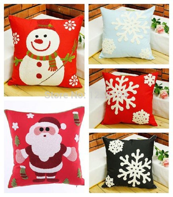 Pin On Christmas Cushion Cover