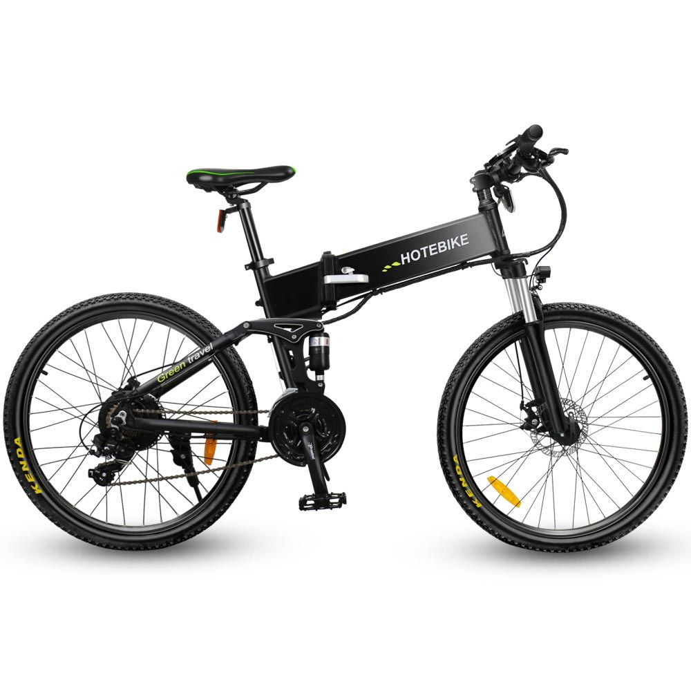 Full Suspension Folding Mountain Electric Bike In 2020 Folding Electric Mountain Bike Electric Mountain Bike Electric Bike Kits