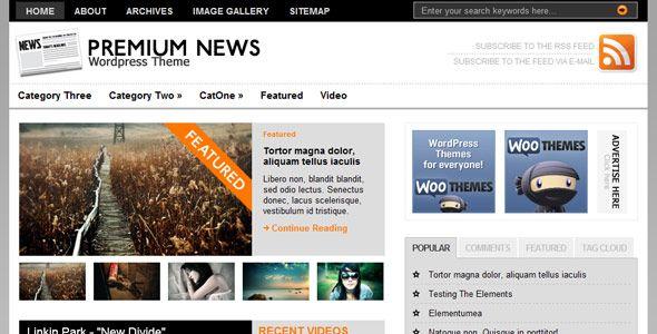 Plantillas Wordpress Gratis Para Revistas En Linea