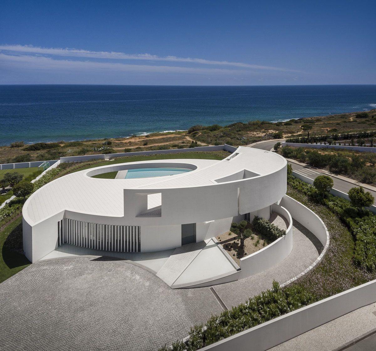 modern architectural design. Contemporary Elliptical House With Organic Architectural Design | IDesignArch Interior Design, Architecture \u0026 Decorating EMagazine Modern