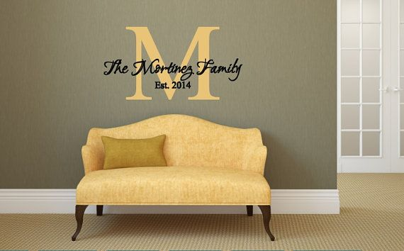 Sale 15% off thru July 31 Family Vinyl Wall Art~Vinyl Wall Decal ...