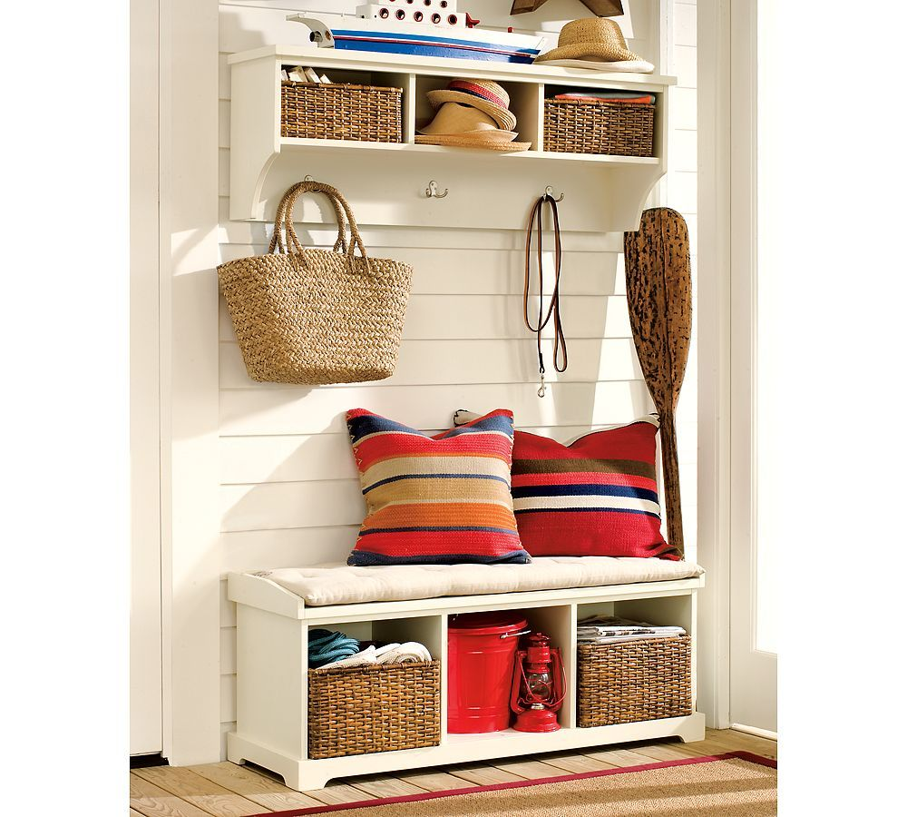Of course you need some storage there. Weu0027ve gathered a lot of hallway and mudroom storage ideas for you.  sc 1 st  Pinterest & Love love love this! nice and functional place for keeping your ...