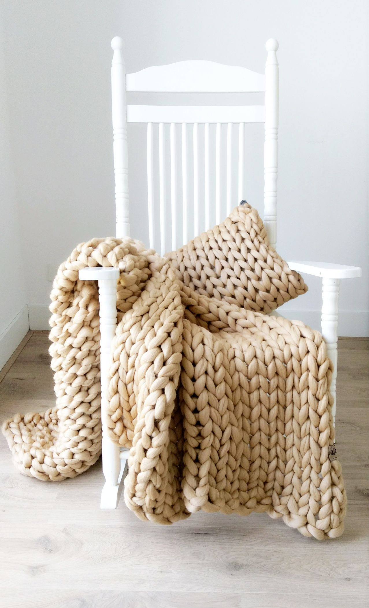 Grof Gebreid Plaid Patroon En Kleur Wol In 2019 Portfolio Throws Wool Chunky Knit