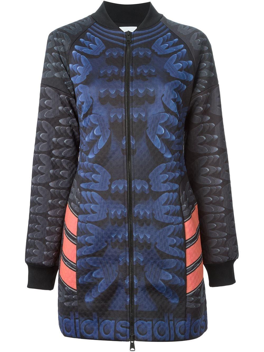 Store Voo Manteau X Mary Katrantzou Imprimé Originals Adidas q0fpg