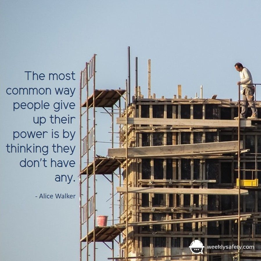 Don't Give Up Your Power Safety quotes, Safety topics