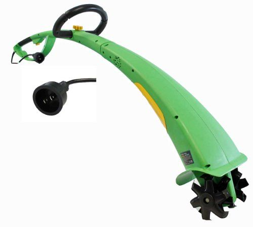 Power Glide 1/3 HP corded electric tiller - perfect for cultivating garden beds, landscape beds, and weeding. Garden tillers sale.