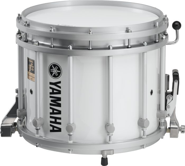Yamaha 14x12 Mts Series Marching Snare Drum Only White Wrap