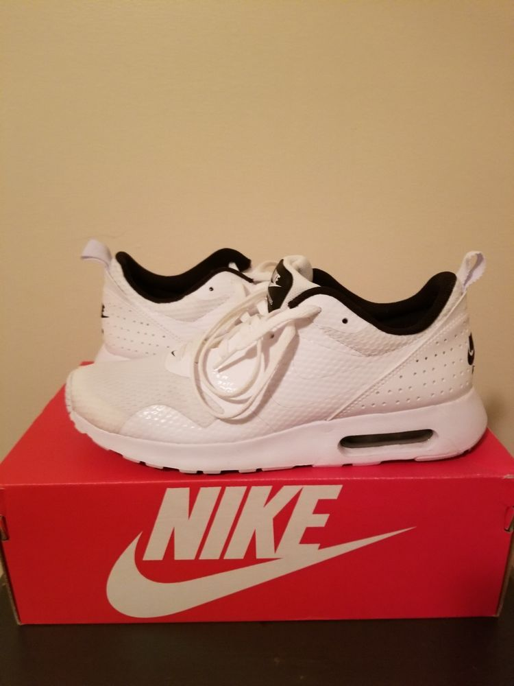 f2f7a0bc128b0 Mens Nike Air Max Tavas Running Shoes. White Size 8. Great Condition   fashion  clothing  shoes  accessories  mensshoes  athleticshoes (ebay link)
