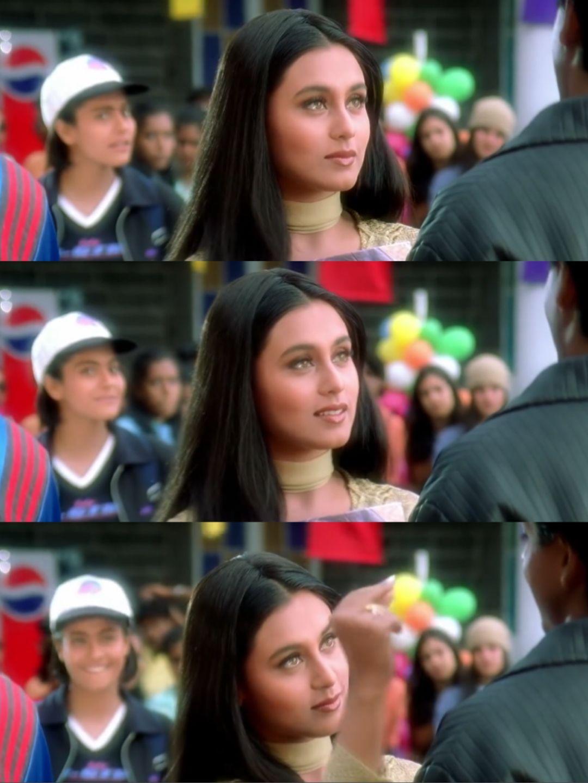 Rani Mukerji In Kuch Kuch Hota Hai Kuch Kuch Hota Hai Rani Mukerji Vintage Bollywood