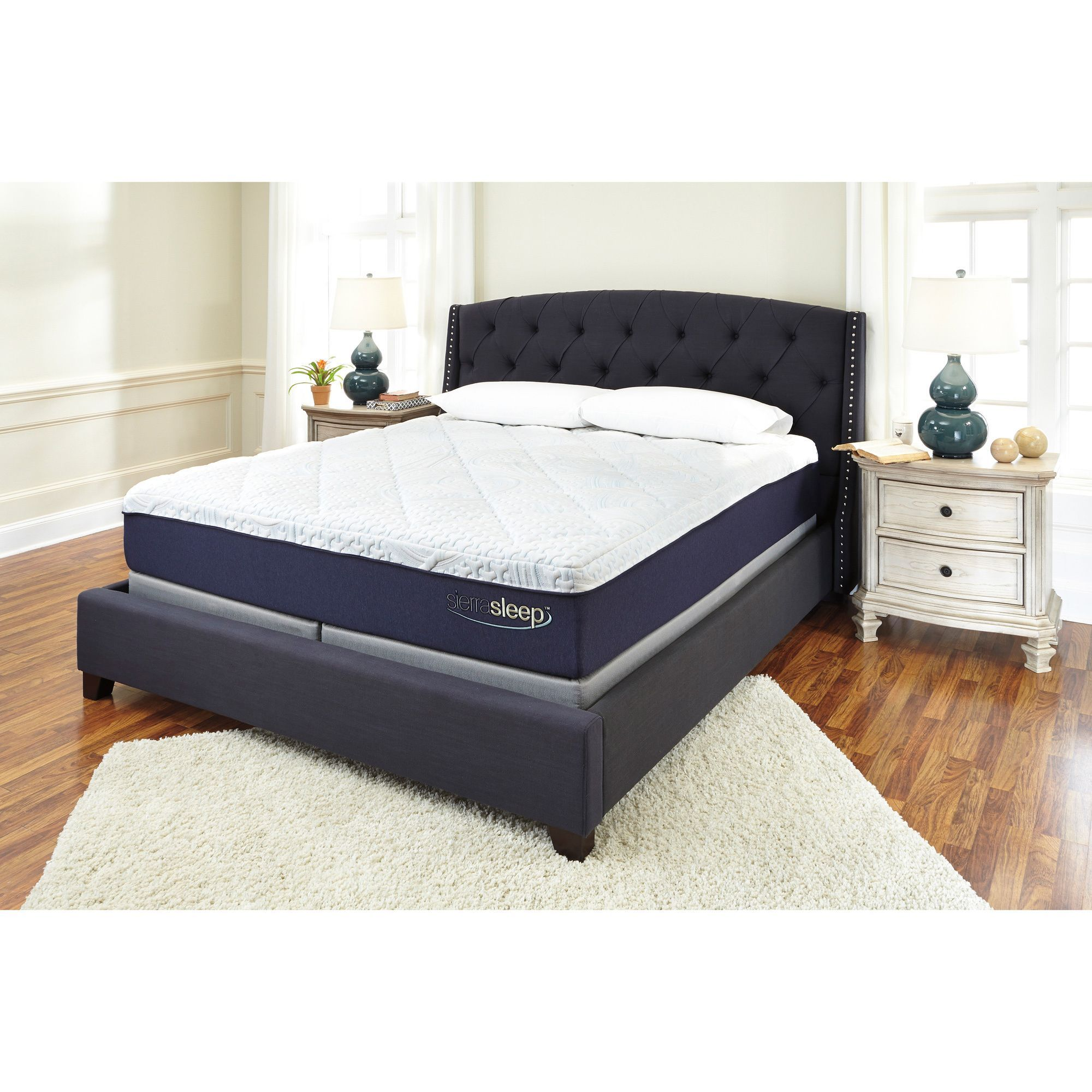 sierra sleep by ashley 13 inch queen size gel memory foam mattress