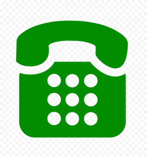 Hd Classic Traditional Telephone Icon On Green Png In 2021 Icon Traditional Png