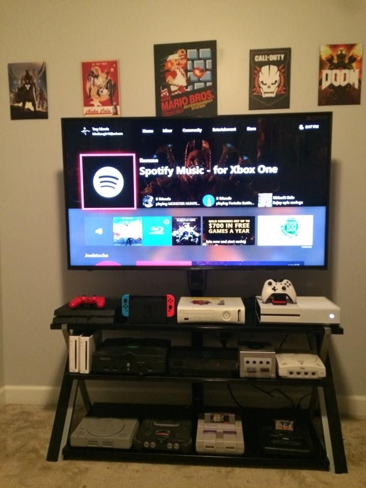 Gaming Setup Video Game Rooms Game Room Video Game Room