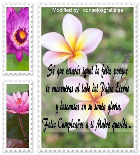 Mensajes De Texto Para Cumpleaños Para Mi Mamà Fallecida Palabras De Cumpleañ Feliz Cumpleaños Madre Mensaje De Cumpleaños Para Madre Texto De Feliz Cumpleaños
