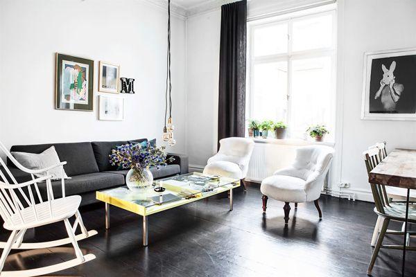 Scandinavisch Appartement Inspiratie : Scandinavisch interieur appartement inspiratie 01 random
