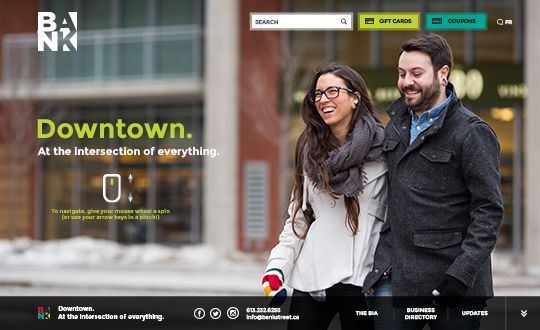 Featured of the day 22-Apr-2014  http://www.csslight.com/website/6567/Bank-Street-BIA