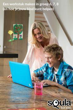 """""""Ik moet een werkstuk maken voor school."""" Vroeg of laat komt deze zin de huiskamer in. Hoe help je jouw kind, zonder het zelf helemaal over te nemen? Op ons blog een stappenplan voor helpende ouders."""