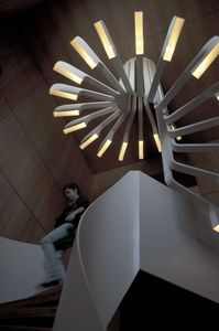 Modern Spiral Staircase Lighting Design Ideas - Autoshowup