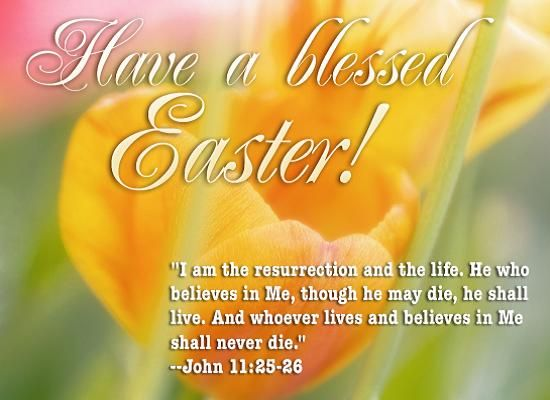 Happy Easter Wishes and Messages – Easter Card Messages