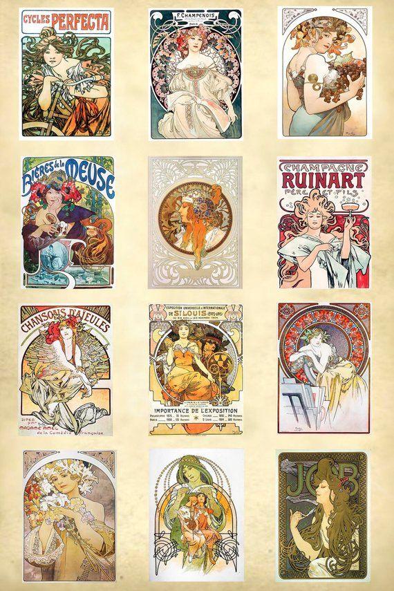 Art Nouveau Print #47