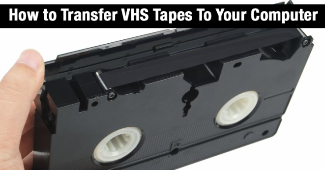 Here S How To Transfer Your Old Vhs Tapes To Your Computer Med Billeder Projekter
