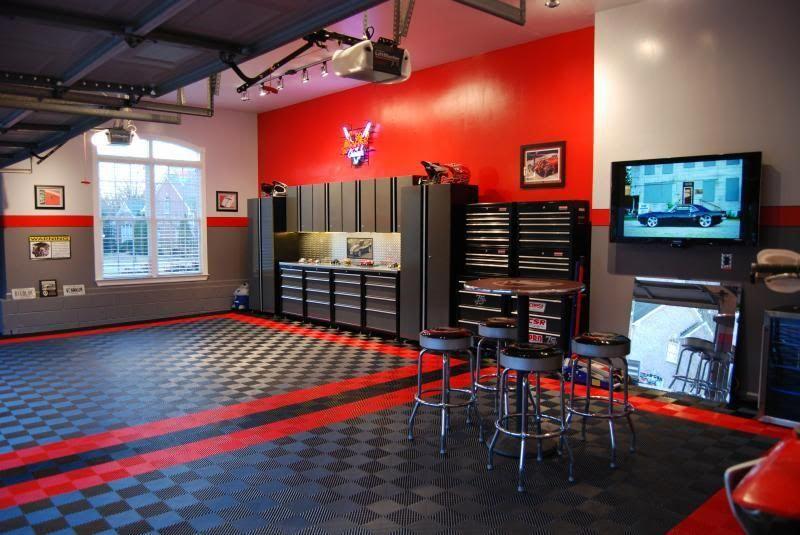 Custom Garage Interiors Garage Storage And Organization Ideas