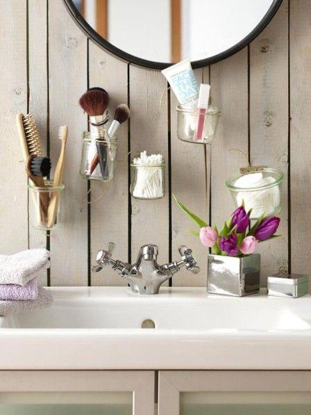 f r kleiner b der badezimmer aufbewahrung selber machen badezimmer aufbewahrung badezimmer. Black Bedroom Furniture Sets. Home Design Ideas