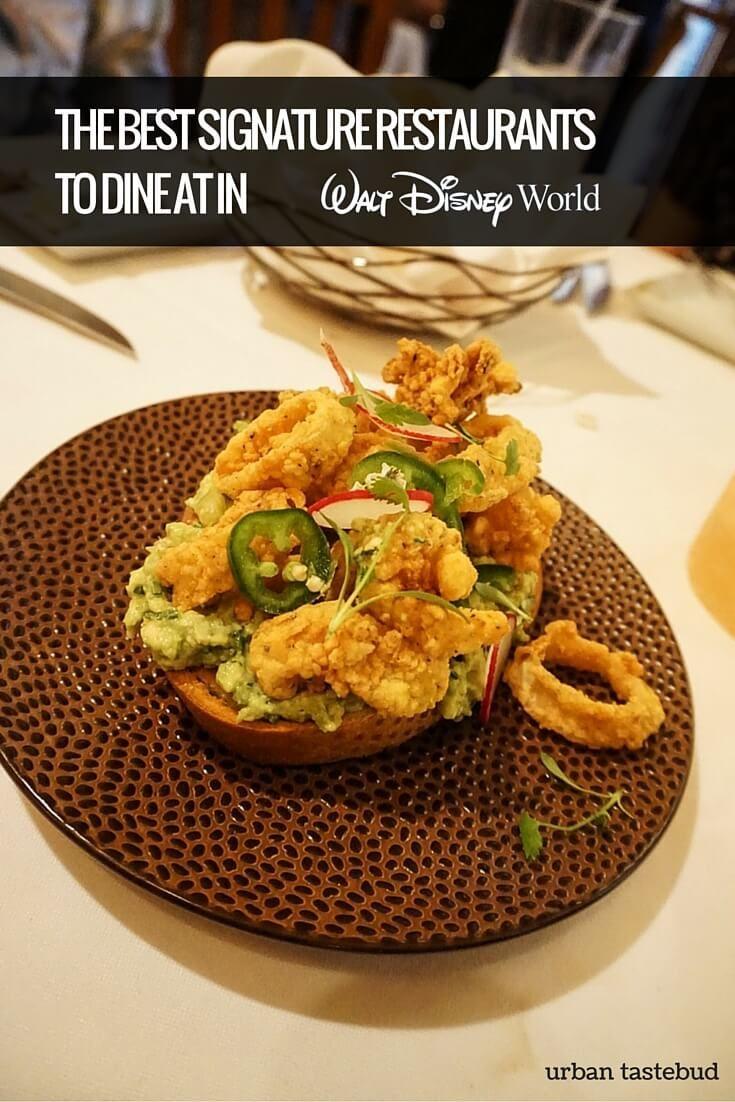 Best Signature Restaurants At Disney World